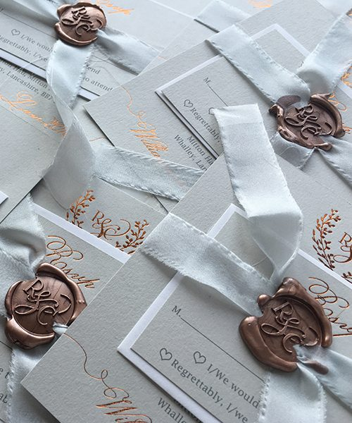 Copper Wax Seal Stamps