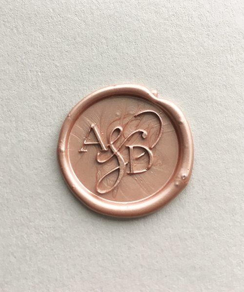 The Product Is Already In Wishlist Browse Three Initials Wax Seal Stamp