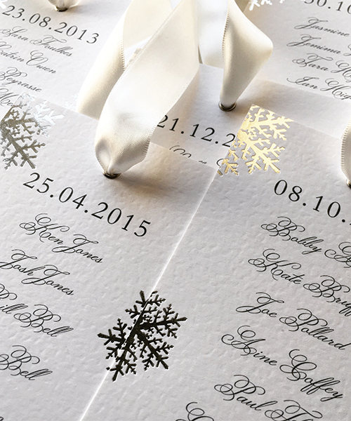 Snowflake-Table-Plan-Tags-On-the-Day-Stationery - Silk Beau