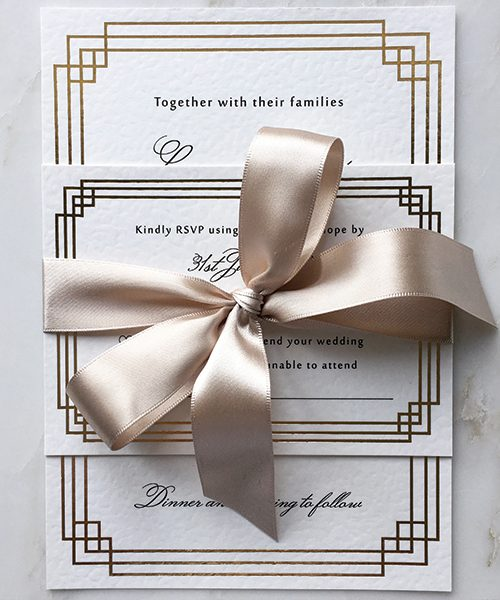 Art-Deco-Gold-Foiled-Wedding-Invitations