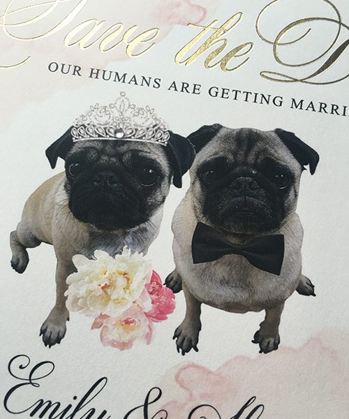 Our Humans are getting Married Save the Dates