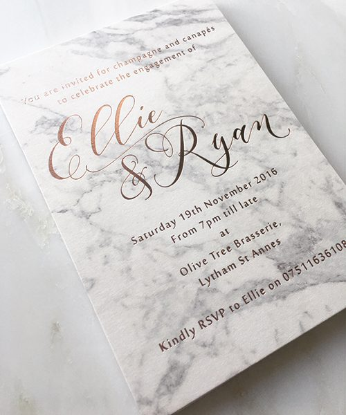 Marble-and-Rose-Gold-Engagement-Invitations