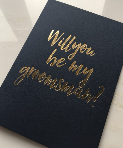 Will you be my groomsman silk beau will you be my groomsman card junglespirit Image collections